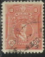 PERU´ 1924 1928 AUGUSTO B. LEGUIA CENT. 10 USATO USED OBLITERE' - Peru
