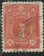 PERU´ 1924 1928 AUGUSTO B. LEGUIA CENT. 10 USATO USED OBLITERE´ - Peru