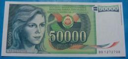 YUGOSLAVIA 50,000 DINARA 1988, UNC, PICK-96 - Yougoslavie