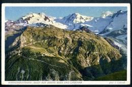 Gornergratbahn, Blick Auf Monte Rosa Und Lyskamm, J. Gaberell - VS Valais