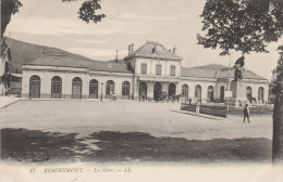 REMIREMONT     VOSGES  88  CPALA GARE - Remiremont