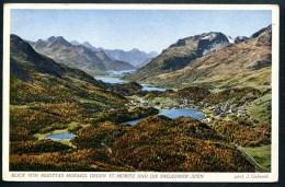 Blick Von Muottas Muraoigel Gegen St.Moritz Und Die Engadiner Seen, J. Gaberell - GR Graubünden