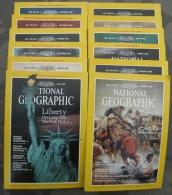 National Geographic Magazines Full Year 1986 - Books, Magazines, Comics