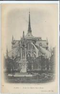 Paris-Abside De L'Église Notre-Dame (Précurseur)-(CPA). - Kirchen