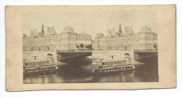 PHOTO STEREOSCOPIQUE Ancienne Circa 1900.. Hôtel De Ville à PARIS (75) - Fotos Estereoscópicas