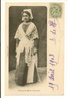 CPA 85 Costume De Mariée Luçonnaise LUCON - Lucon