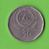 CABO VERDE / CAP VERT / 20 CENTS / 1994 /   - BEL ETAT - Cap Vert