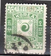 5 Poon Used Very Fine KPC#3A Michel # 3 II (k3) - Corea (...-1945)