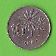 NIGERIA / 10 KOBO / 1976 /   - BEL ETAT - Nigeria