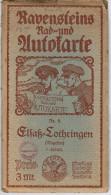 Ravensteins Rad - Und Autokarte Elsass Lothringen Nr 5 - Maps Of The World