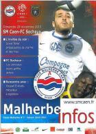 Programme Football : 2010/1 Caen – Sochaux - Books