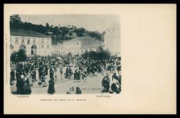 TOMAR - FEIRAS E MERCADOS - Mercado Na Praça D. Manuel ( Ed. Col. Havaneza De Thomar Nº 6)carte Postal - Santarem