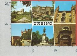CARTOLINA VG ITALIA - URBINO (PU) - Vedutine - 10 X 15 - ANN. 19?? - Urbino