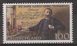 Deutschland 1995 Mi.1828  Mint/NEUF/NEW/MNH/** LUXE - Nobelprijs
