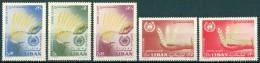 1963 Liban Champagne Mondiale Contre La Faim Set MNH** - Liban