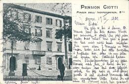 FIRENZE - PENSIONE GIOTTI - F/P - V:1902 - I - Lecco