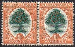 AFRIQUE DU SUD - Légendes Anglaises Et Afrikaans Se Tenant - 6 P. De 1926 Oblitéré - South Africa (...-1961)
