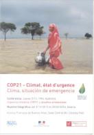 COP21 - CLIMAT, ETAT D'URGENTE - CLIMA, SITUACION DE EMERGENCIA CONFERENCIA Y MUESTRA FOTOGRAFIA ALIANZA FRANCESA BUENOS - Rampen