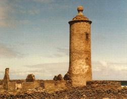 Postcard - North Ronaldsay Old Lighthouse, Orkney Islands. LigR07 - Lighthouses
