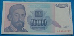 YUGOSLAVIA 50,000 DINARA 1993, UNC. Pick-130. - Yougoslavie