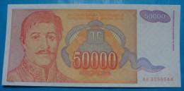 YUGOSLAVIA 50,000 DINARA 1994, UNC. Pick-142. - Yougoslavie
