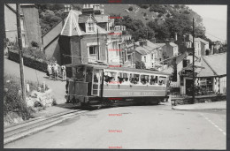 RK1191 Great Orme Tramway Car 5 Crossing Tygwyn Road 4/7/77 - Fotos
