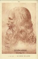 Milano - Leonardo Da Vinci - Son Portrait - Peintures & Tableaux