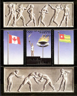 Togo, Olympic Summer Games Montreal 1976, MNH Perf Souvenir Sheet, Michel Block 100A - Giochi Olimpici
