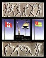 Togo, Olympic Summer Games Montreal 1976, MNH Imperf Souvenir Sheet, Michel Block 100B - Juegos Olímpicos