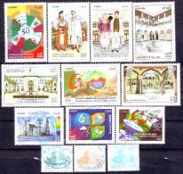 Algérie- Année Complète 2015 , 28 Timbres Oblitérés + Bloc Rare ( Oblitérations Centrales Rondes) - Algerien (1962-...)