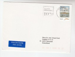 1994 Air Mail  ALAND COVER 2.90 Rundhall Stamps SLOGAN Pmk ALAND STAMPS 10th ANNIV - Aland