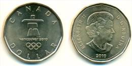 2010 Canada Vancouver Winter Olympics $1 Coin - Canada