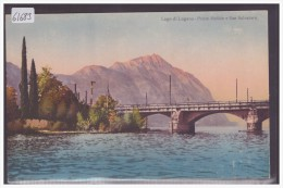 LAGO DI LUGANO - PONTE MELIDE - TB - TI Ticino