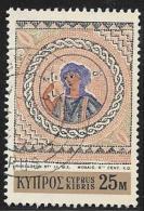 Cyprus, Scott # 356 Used Mozaic Head, 1971 - Chypre (République)