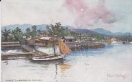 JAMAÏQUE---KINGSTON HARBOUR---voir 2 Scans - Jamaïque