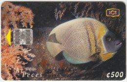 COSTA RICA A-153 Chip ICE - Animal, Sea life, Fish - used