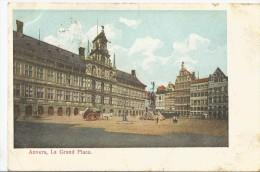 Anvers La Grande Place    CPA 1904 - Antwerpen