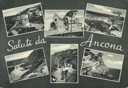 ANCONA  Saluti Da..  Vedutine  Edizioni Alterocca - Ancona