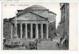ITALIE . ROMA . PANTHEON D'AGRIPPA - Réf. N°12803 - - Panthéon