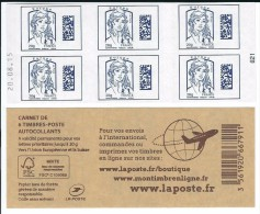 CARNET 6TP CIAPPA - TVP EUROPE DATAMATRIX -  DATE DU 20 08 15 - NEUF - NON PLIE - Carnets