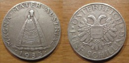 Autriche 5 Schilling 1935 MAGNA MATER AUSTRIAE - Autriche