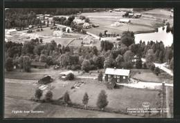 AK Sunnemo, Luftaufnahme Der Ortschaft - Zweden