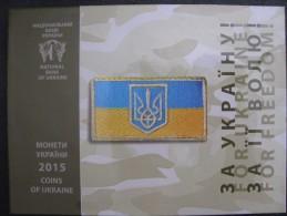 Ukraine Jcoins Set Coins For Circulation 2015 Year Defenders' Day In Ukraine - Ukraine