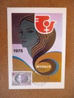Année Internationale De La Femme 13/05/1975 - FDC