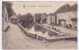 Tilchâtel - Bief Du Moulin Et Lavoir - France
