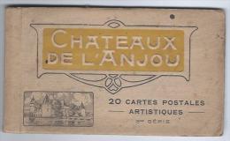 Château De L´Anjou, Carnet Touristique De 9 Cartes Postales Sur 20, Lot Incomplet, Vues Détachables, Plessis-Bourré, ... - Other Municipalities