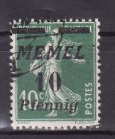 MEMEL 1922. Mi 54, USED - Klaipeda