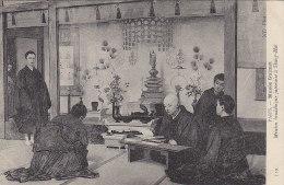 Religion - Bouddhisme - Mission Bouddhique Japonaise à Shanghai China - Peinture Musée Guimet Paris - Bouddhisme