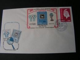 == Peru FDC Block  1978 - Peru