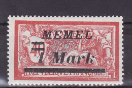 MEMEL 1922. Mi 64, MLH(*) - Klaipeda